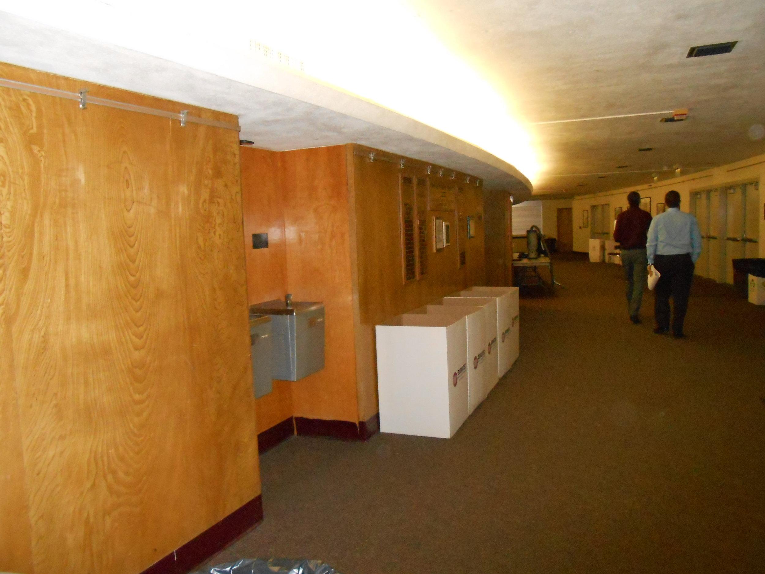 Original interior finishes.