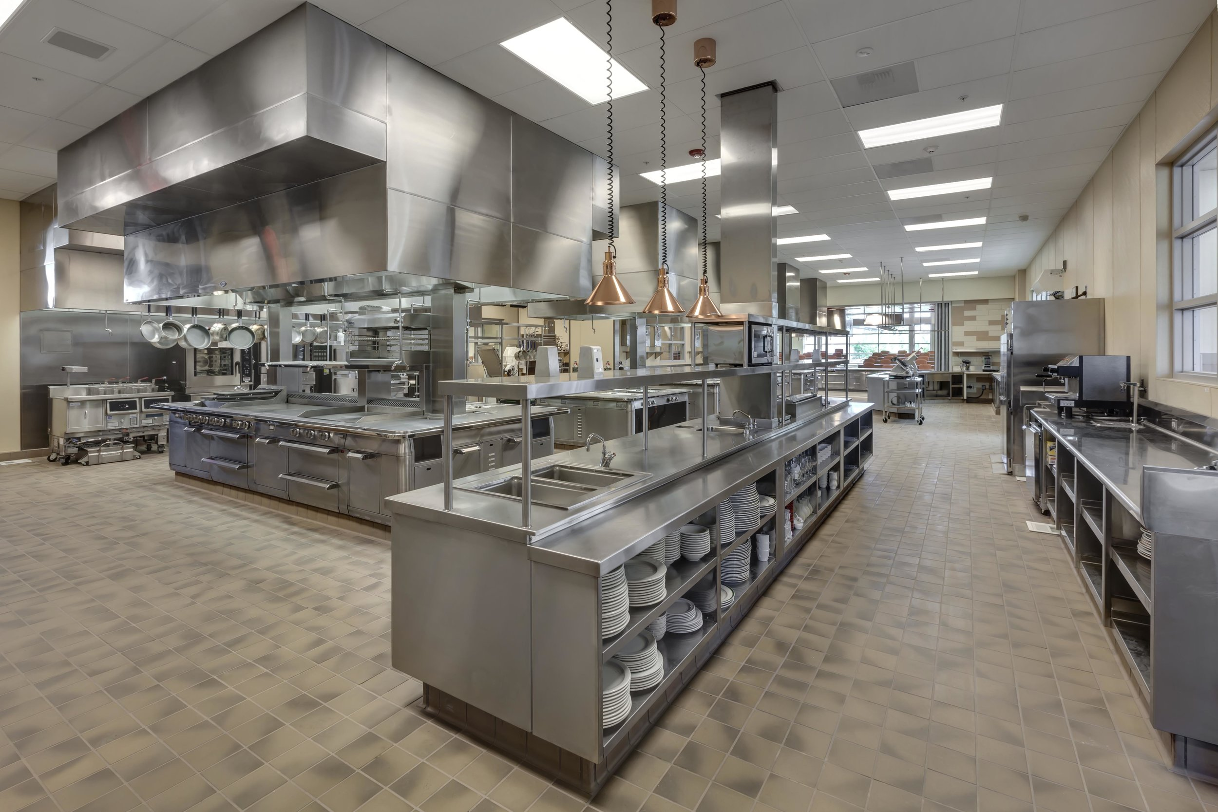 La Quinta High School  Desert Sands Unified School District Sector: Hospitality, Tourism and Recreation Pathway: Culinary Arts Type: New Construction  Score: 117