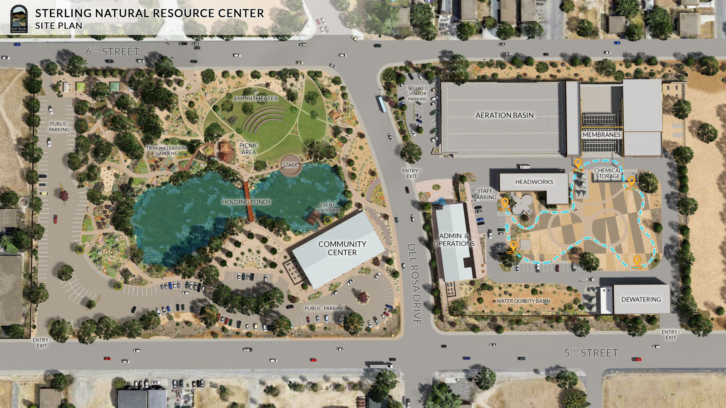 Sterling Natural Resource Center Site Plan