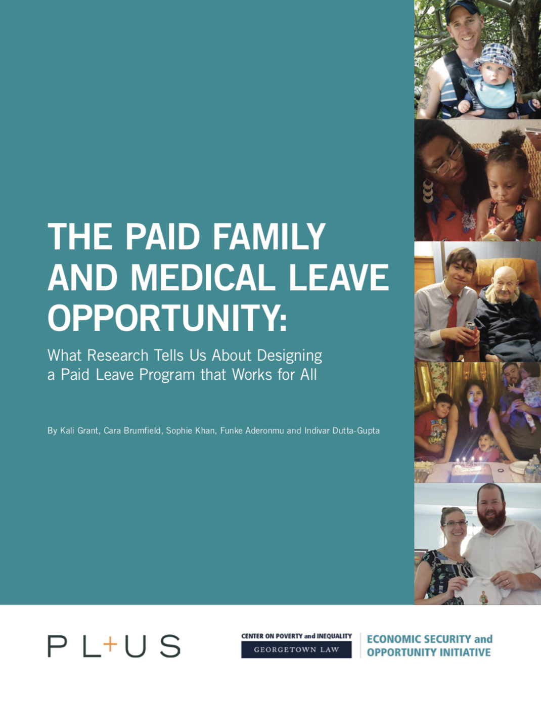 A New Approach To Paid Family Leave - We are in the middle of a caregiving crisis: millions of people in the US can't afford to be with their families in the moments that matter most. Yet, the boldness of proposed solutions have failed to match the scale of that crisis. Now, a new report in partnership with Georgetown Law Center on Poverty and Inequality outlines a new approach, based on what doctors and scientists say that families need.