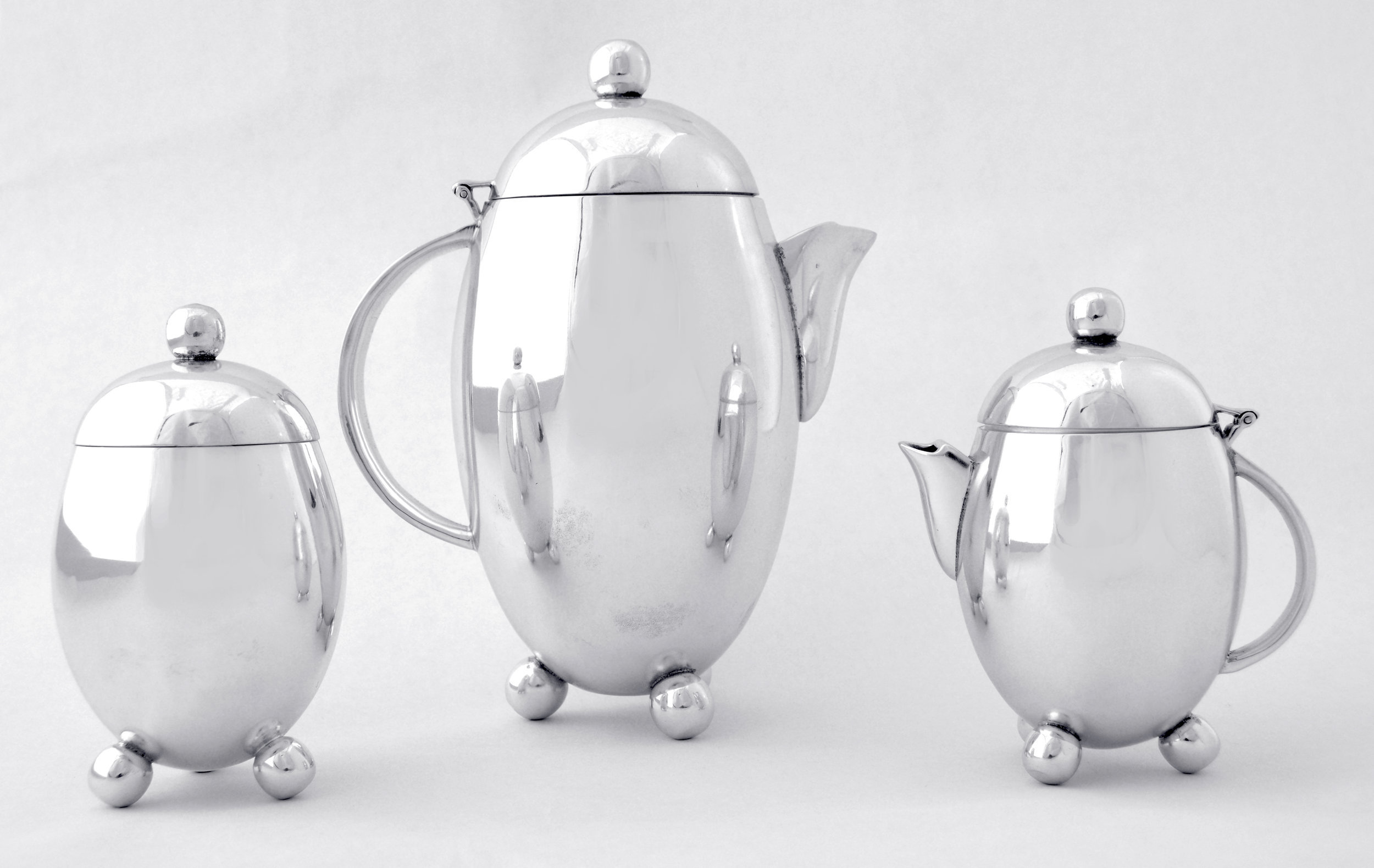Elephant Approved™ Silver Tea Set