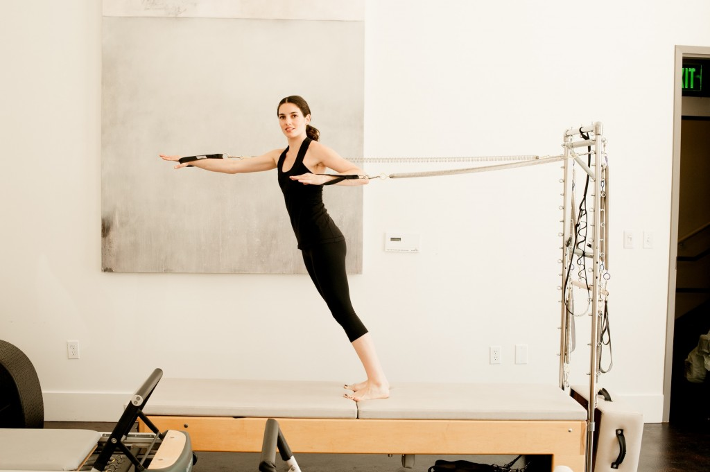 Delphine, Romney Instructor  Photo:  Romney Pilates