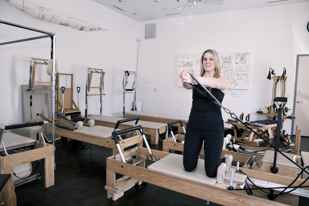 Brenna, Romney Instructor  Photo:  Romney Pilates