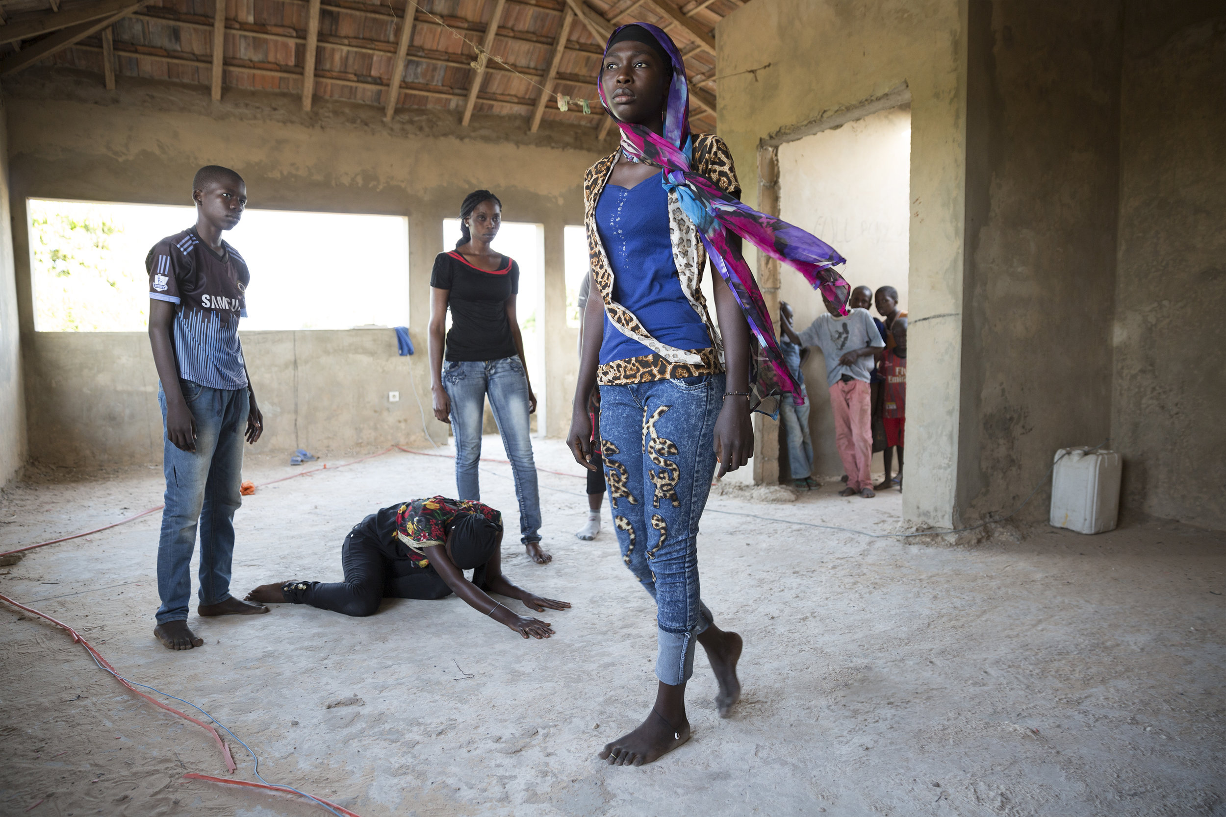 SENEGALESE APPLIED THEATRE - THEATRE OF THE PEOPLE