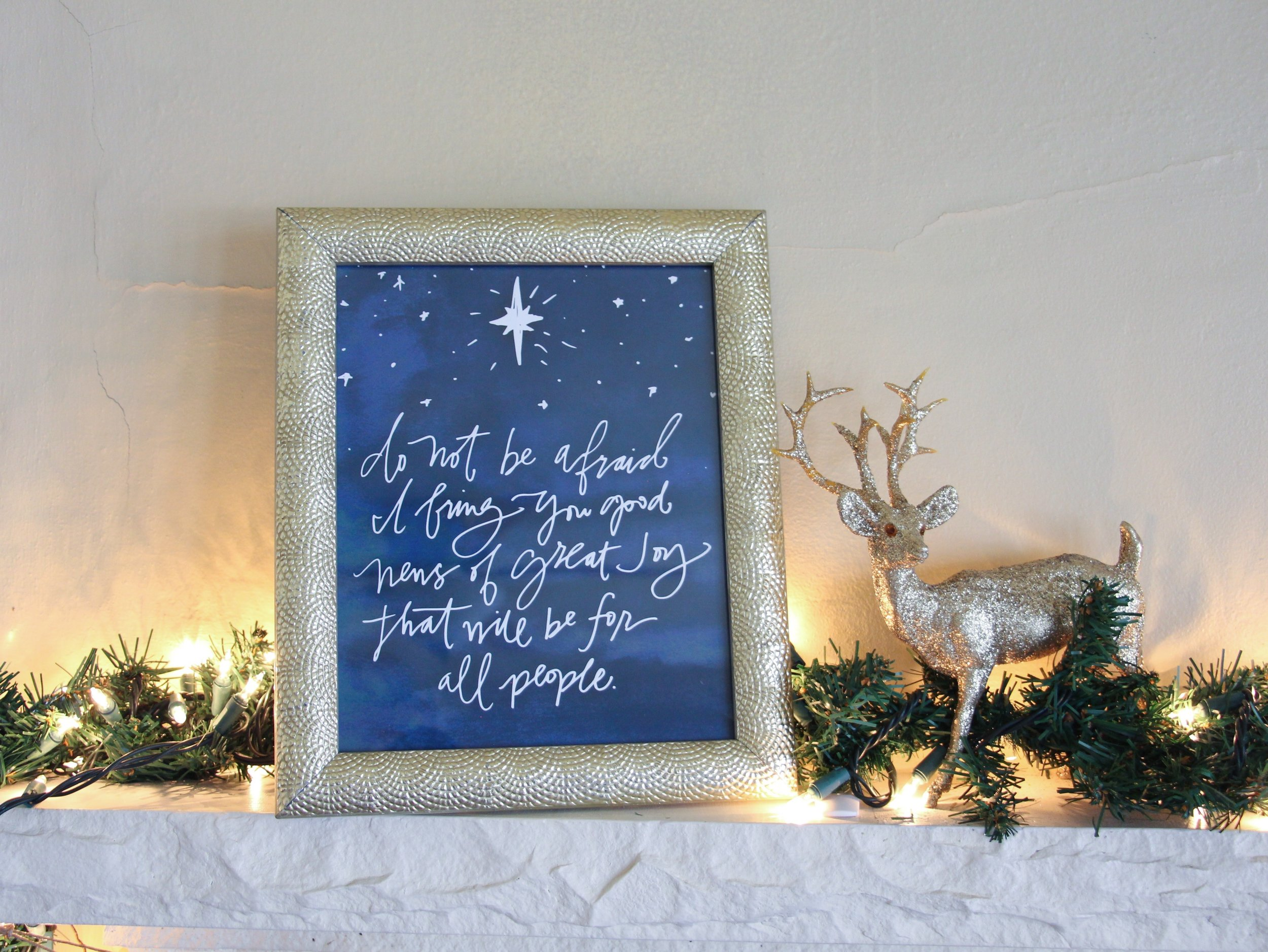 Luke 2:10 image by Mindy Larsen