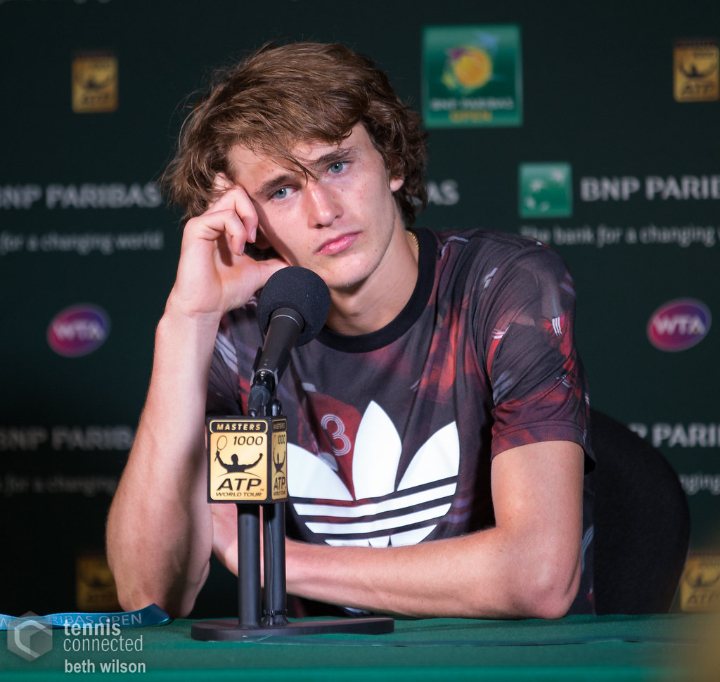 "Zverev was ""not very pleased"" about the Tsitsipas/Kyrgios pairing"