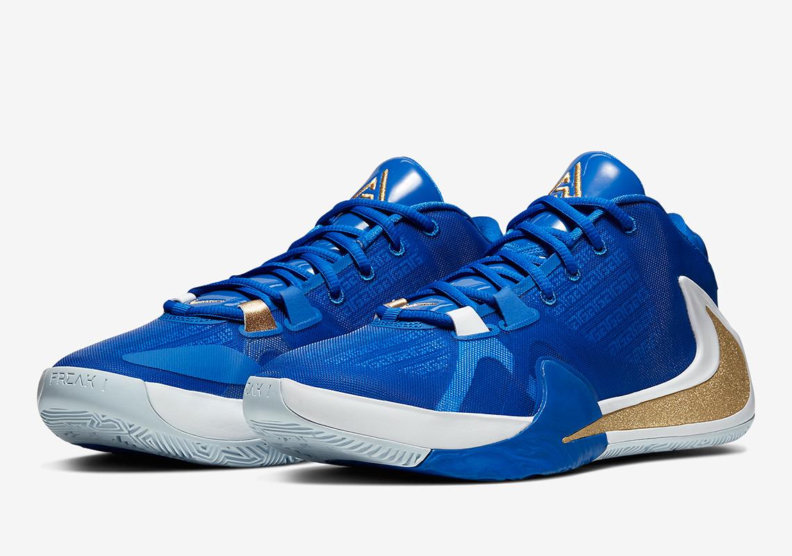 Giannis' Signature Shoe gets 'Greece