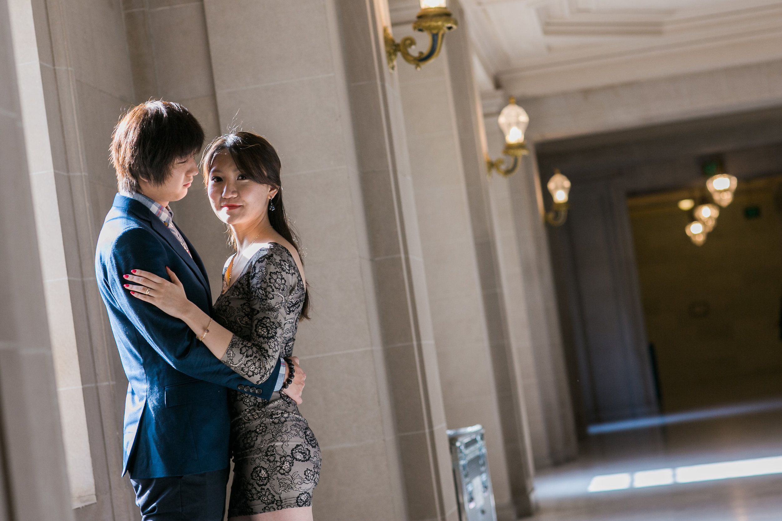 San Francisco City Hall engagement session 2.jpg