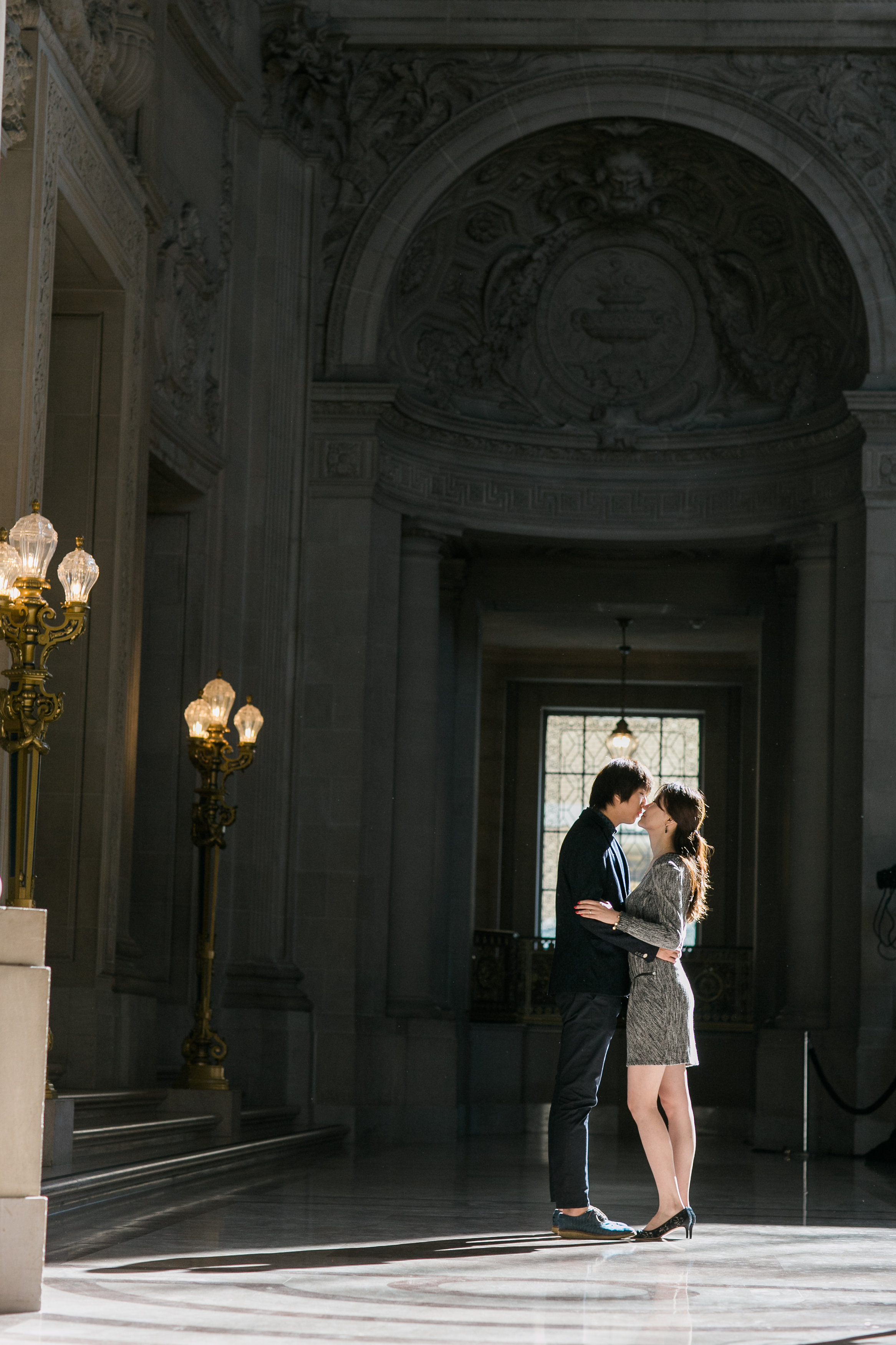 San Francisco City Hall engagement session 4.jpg