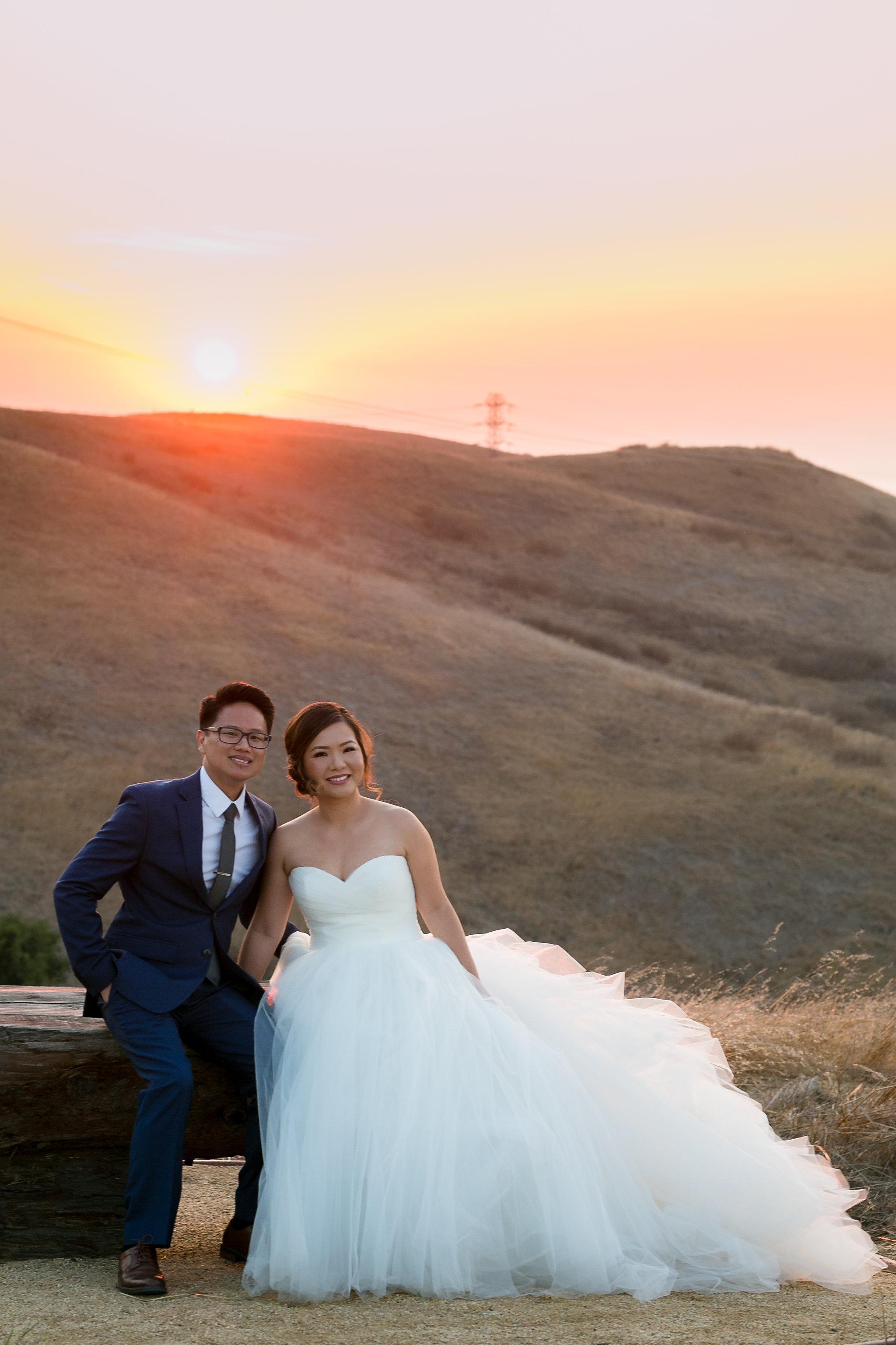 Nella Terra Sunol wedding photography sunset-15.jpg