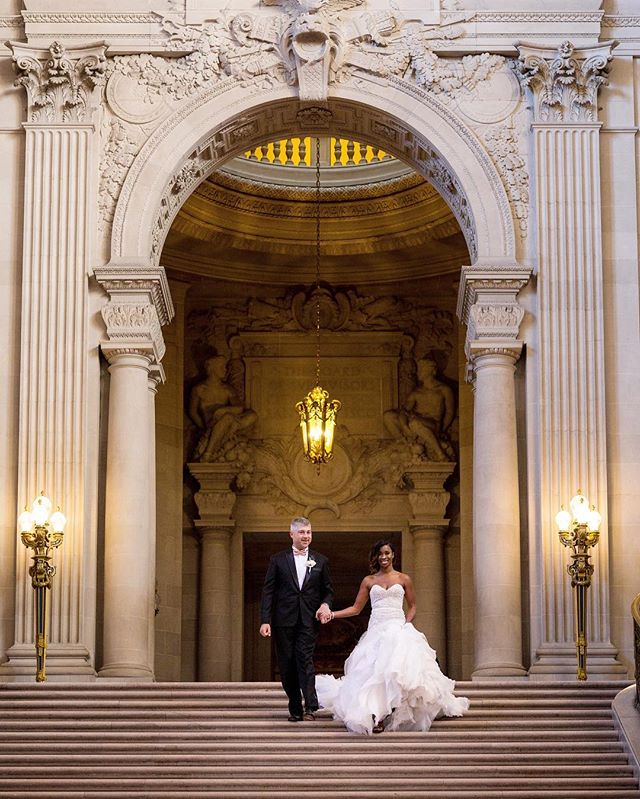 I was fortunate enough to photograph so many beautiful weddings this year. Looking back at these weddings make me excited to meet + photograph all of my 2019 couples special days!  Here is one of my favorites from last year, Annie and Todd at the beautiful San Francisco city hall!