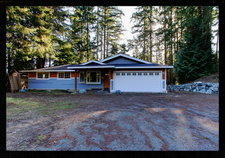 Woodinville Ranch Front Yard Makeover Before