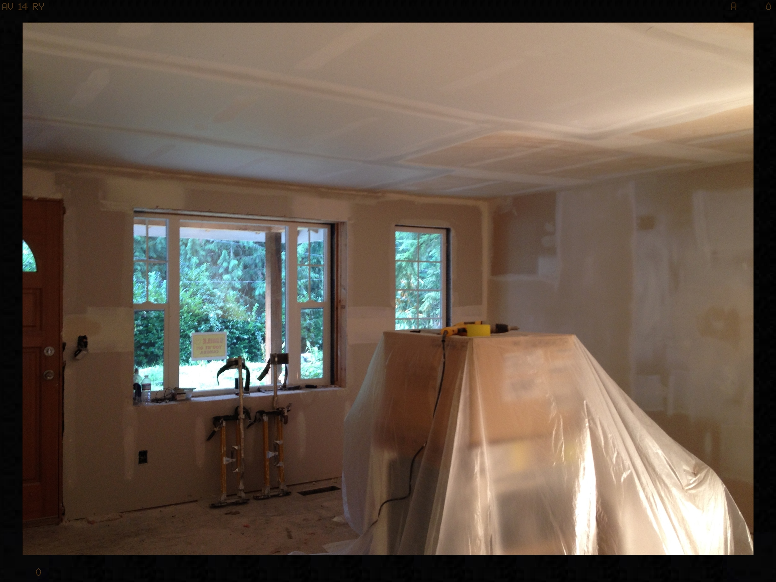 Woodinville Living Room Remodel Before