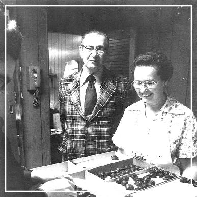 John Good and daughter, Nelda (Good) Coon