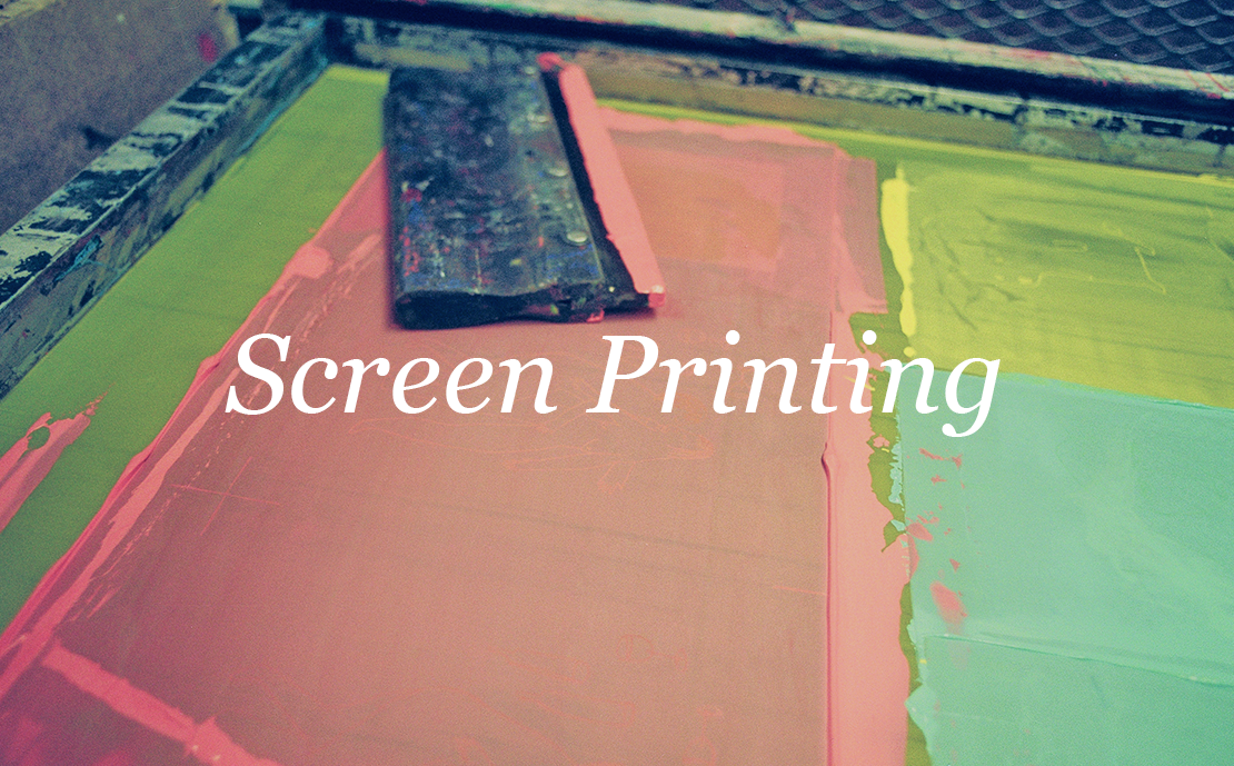 With our In House screen print ability, we making your apparel come to life with one stroke of ink!