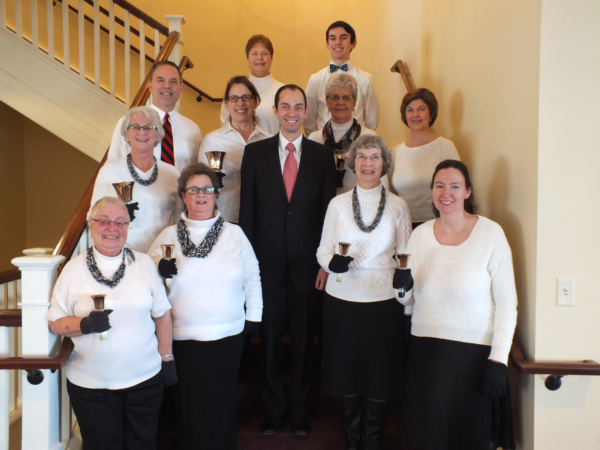 Westminster Ringers - For more experienced ringers of all ages.Rehearses Tuesdays from 7:15-8:30 p.m