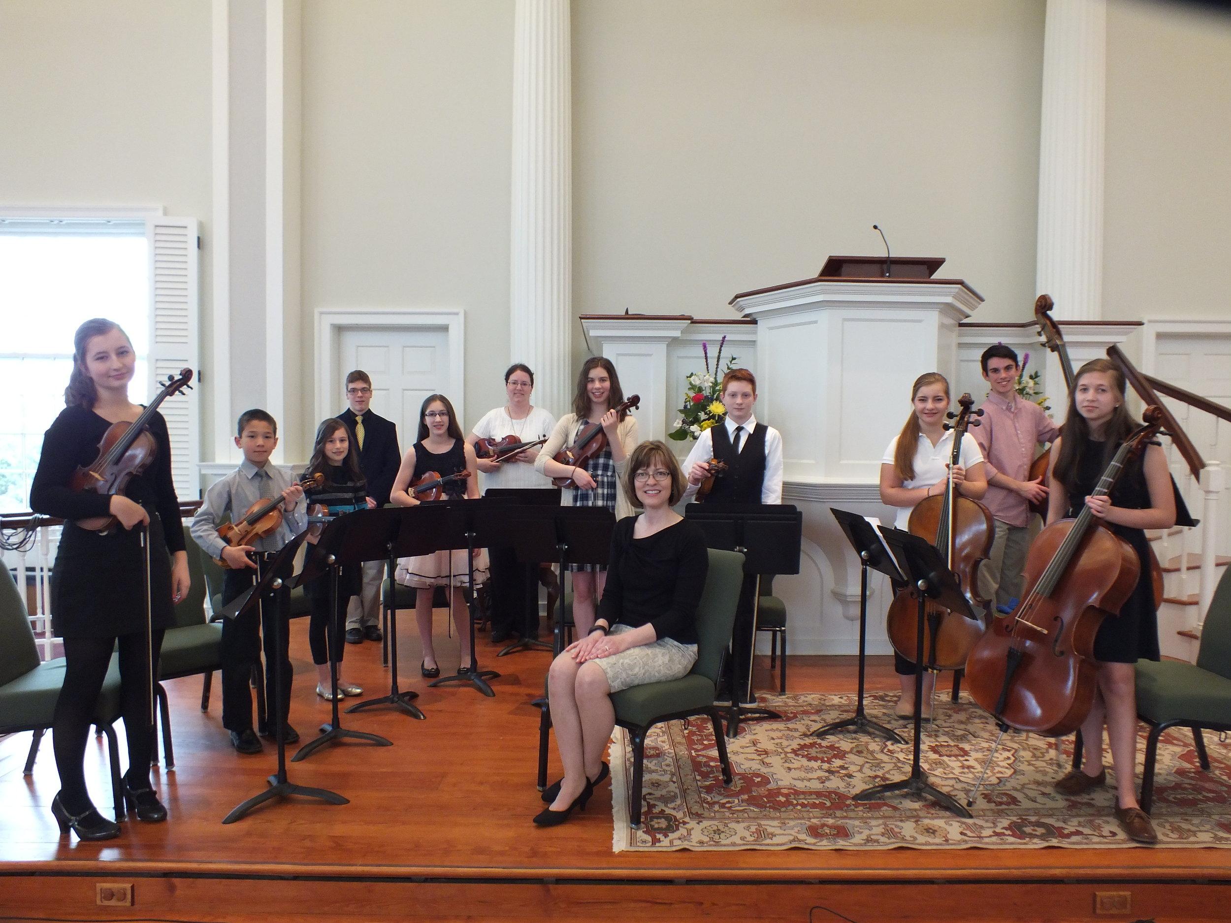 Youth String Ensemble - Carolyn McLain, Director