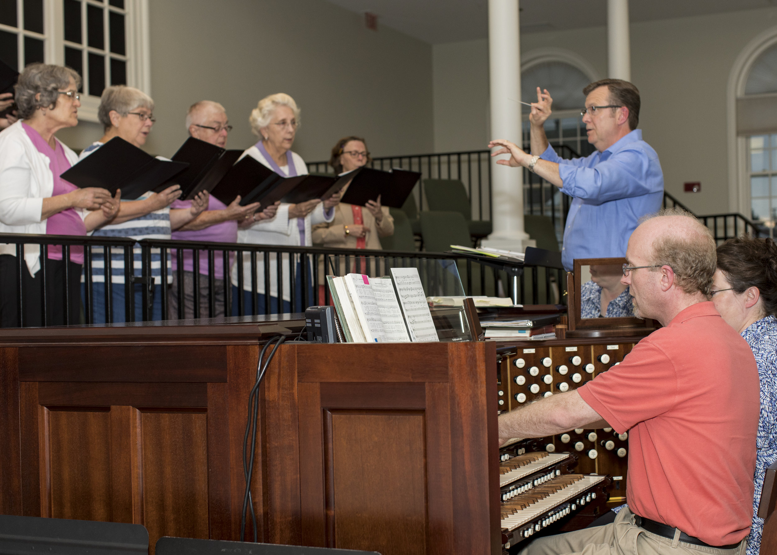 Adult & Children's Choirs - Choirs rehears and sing September through June. Contact Frank Dodd for details about any of our music opportunities.