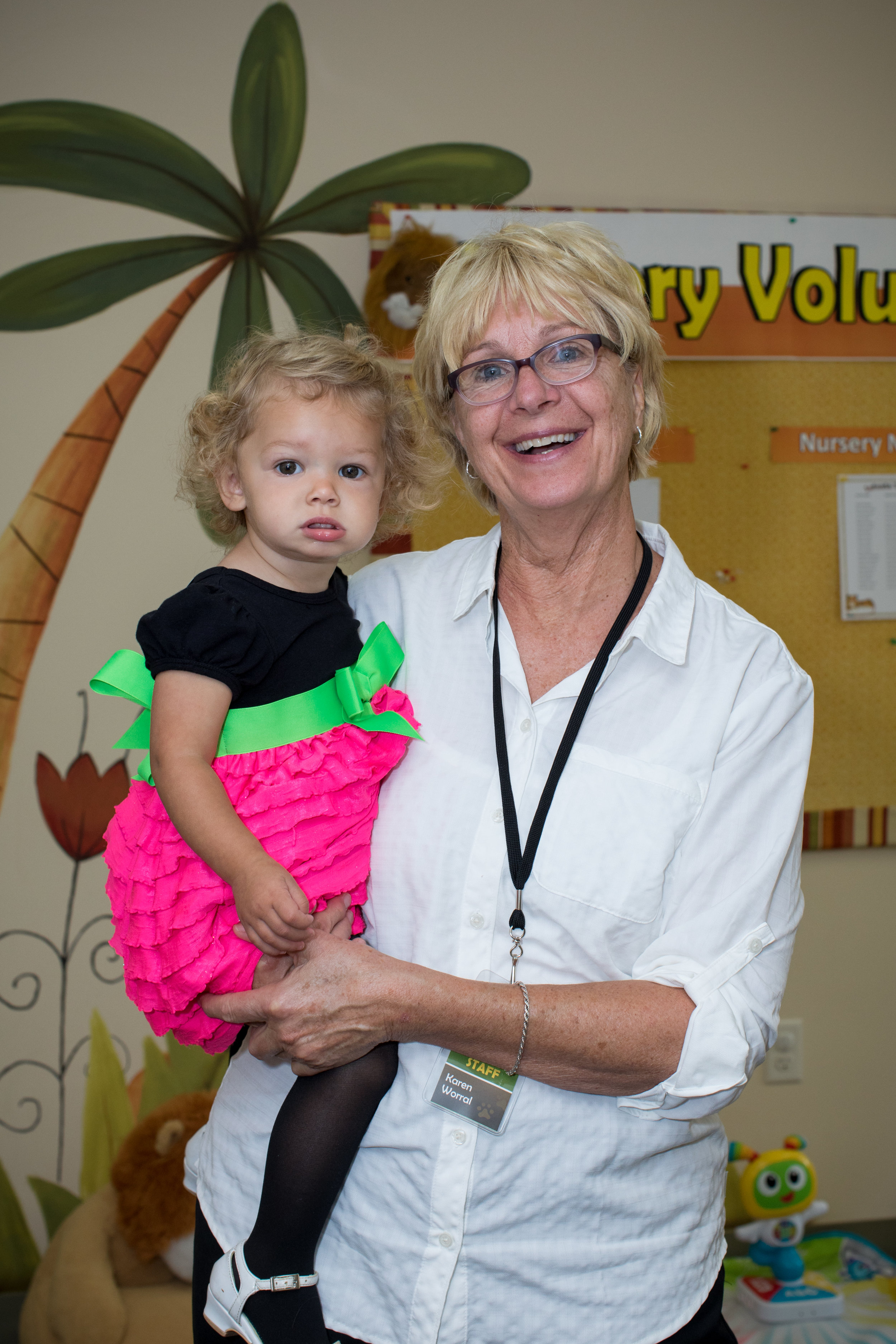 Nursery - 6:30-7:30 PMNursery for infants and toddlers are provided for parents attending adult programs.