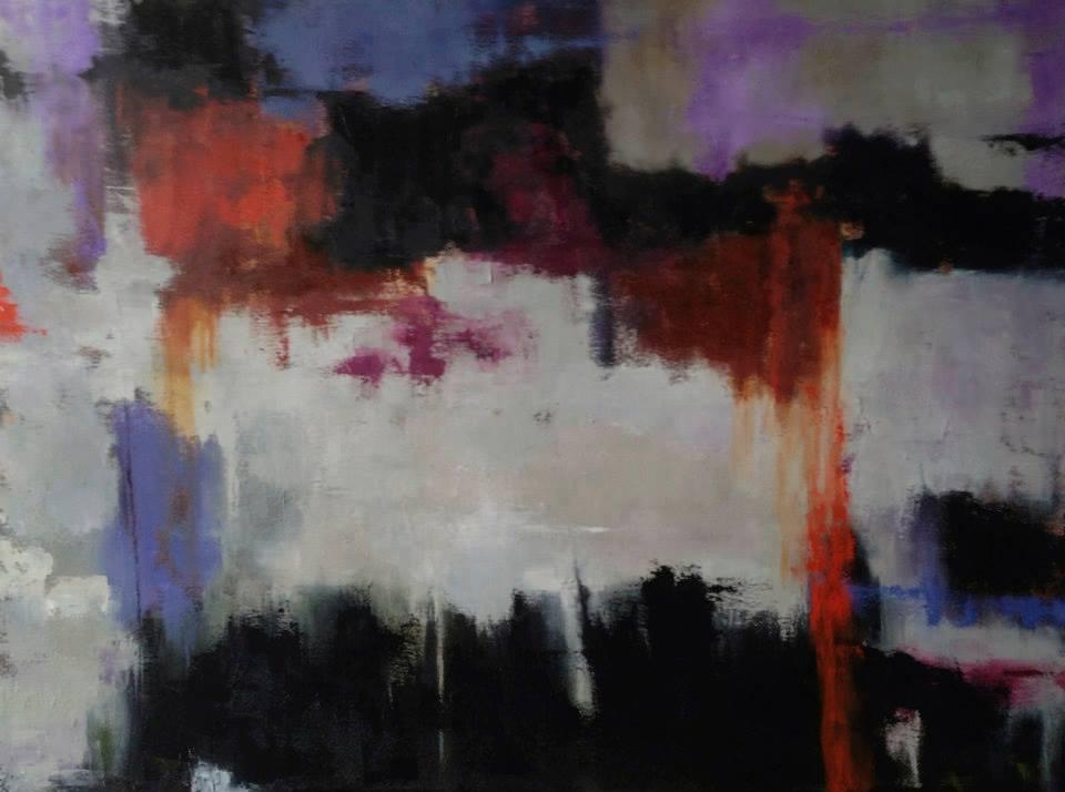 Mumbai, Oil on Canvas, 30x40, SOLD