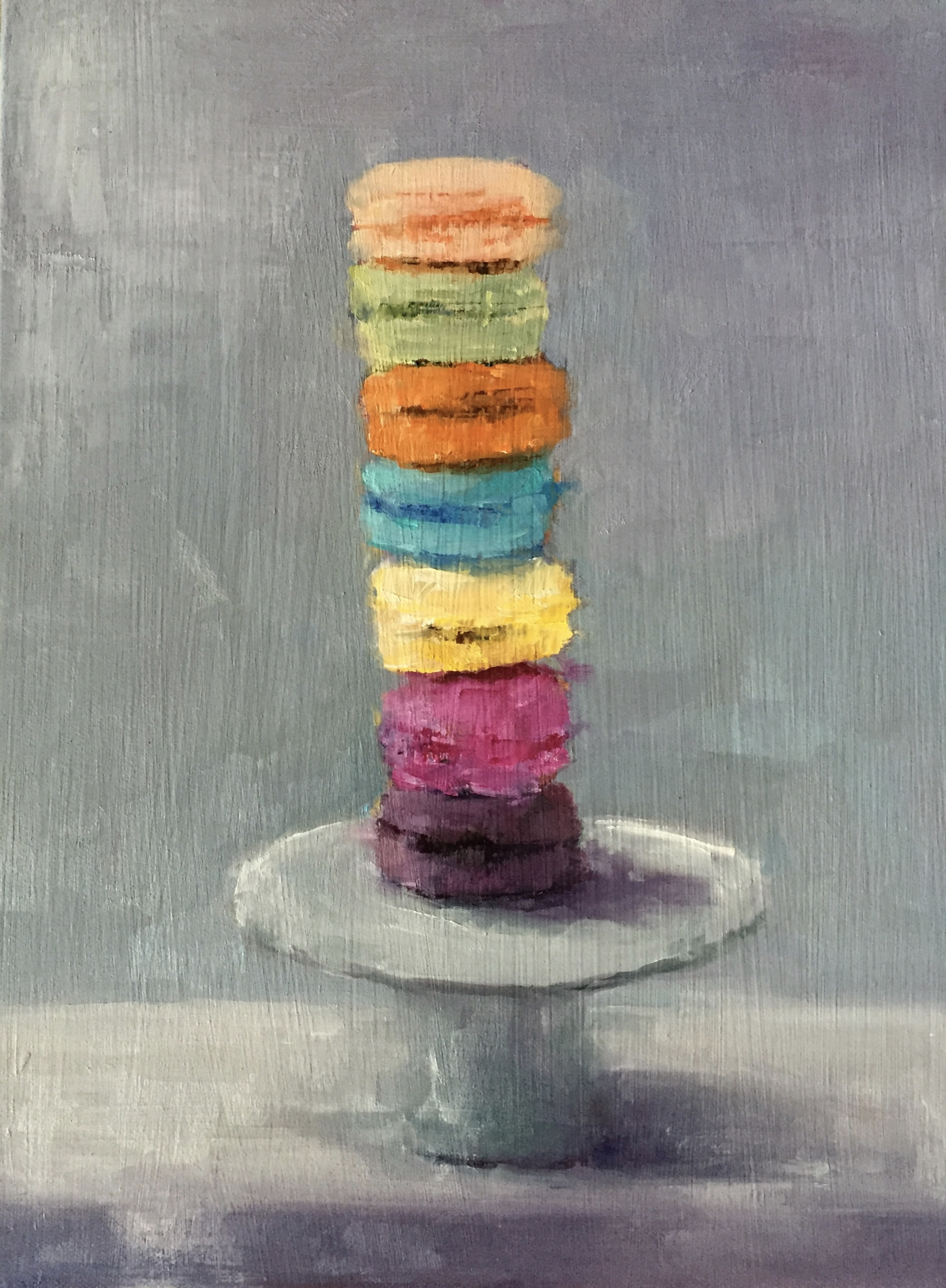 Macaroons, Oil, 9x12, SOLD
