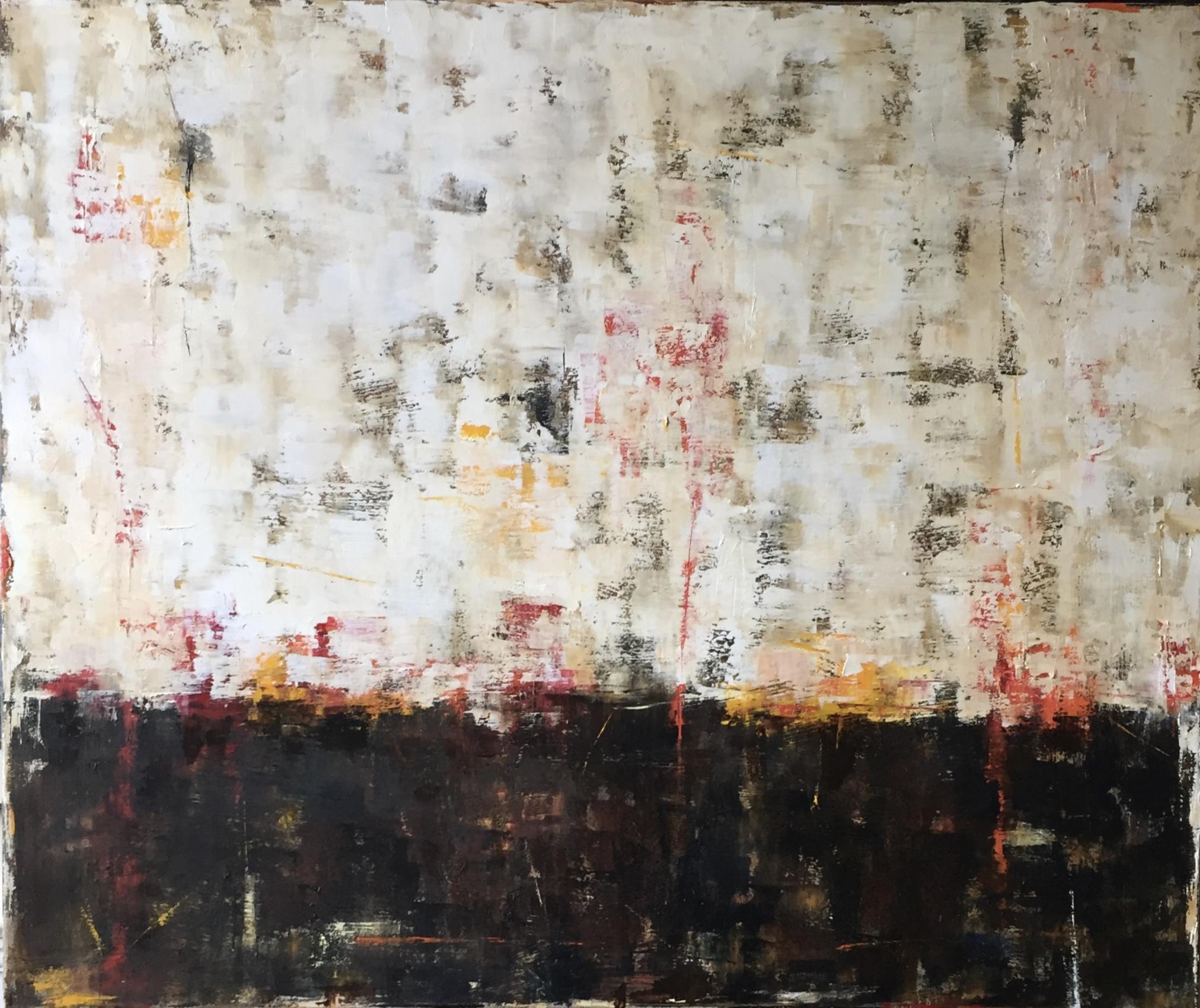 Badlands, Oil on Canvas, 36x30