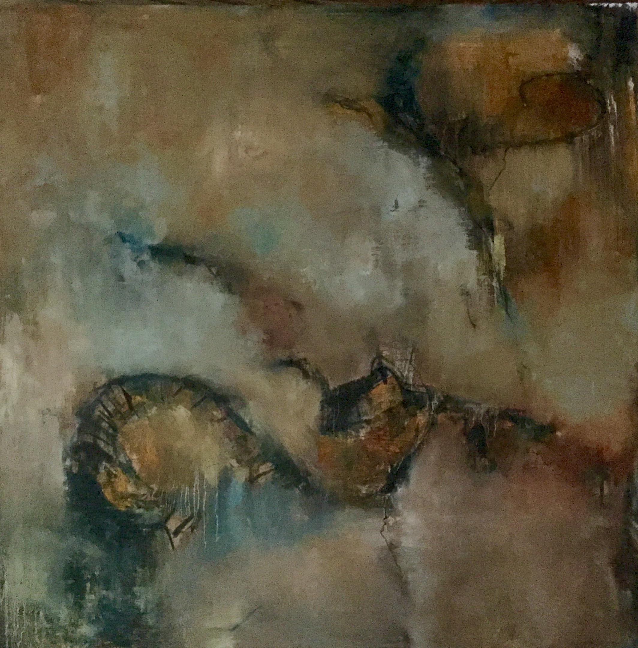 Tumultuous, Oil on Board, 24x24