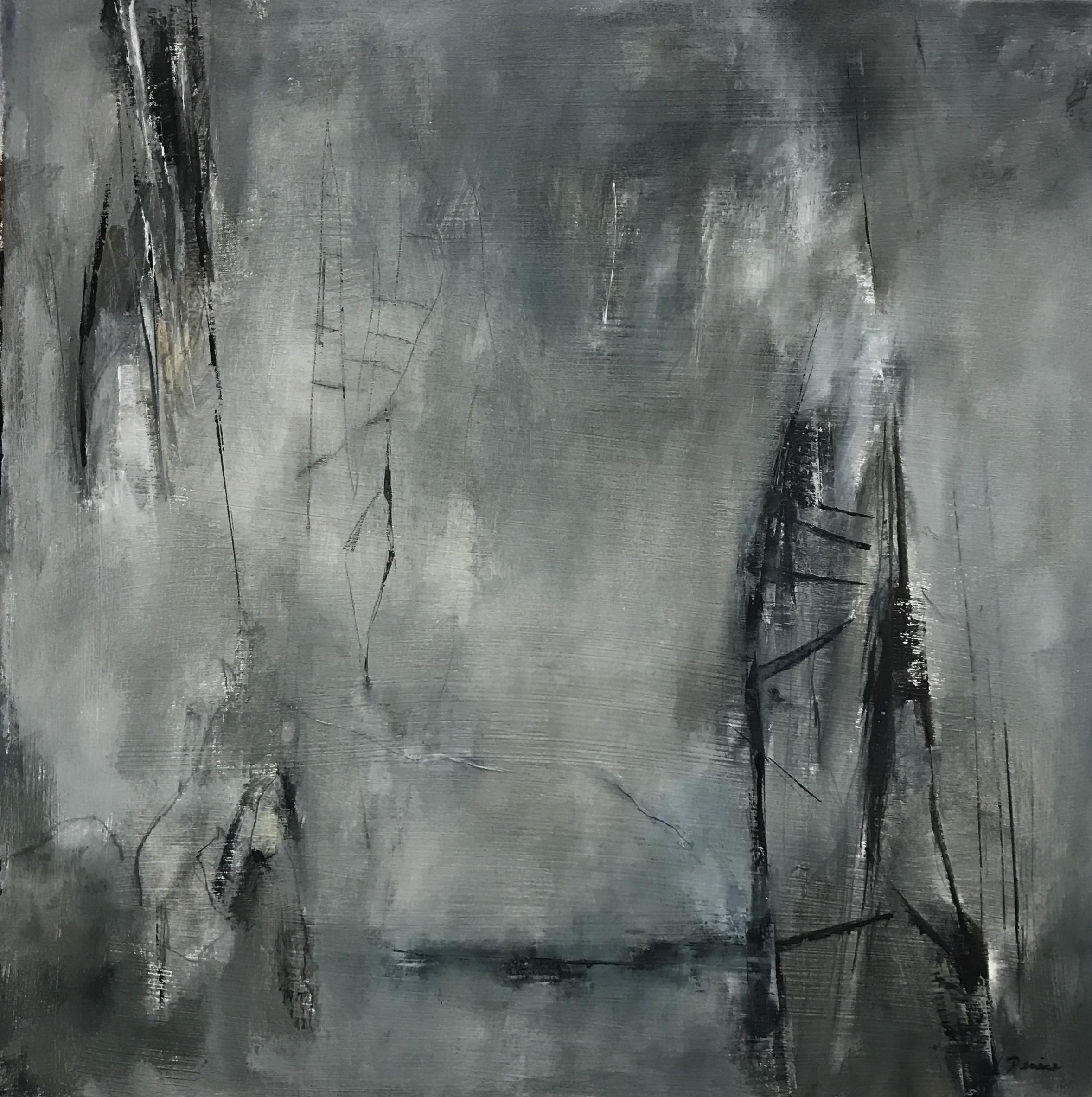 Ascend, Oil on Board, 24x24