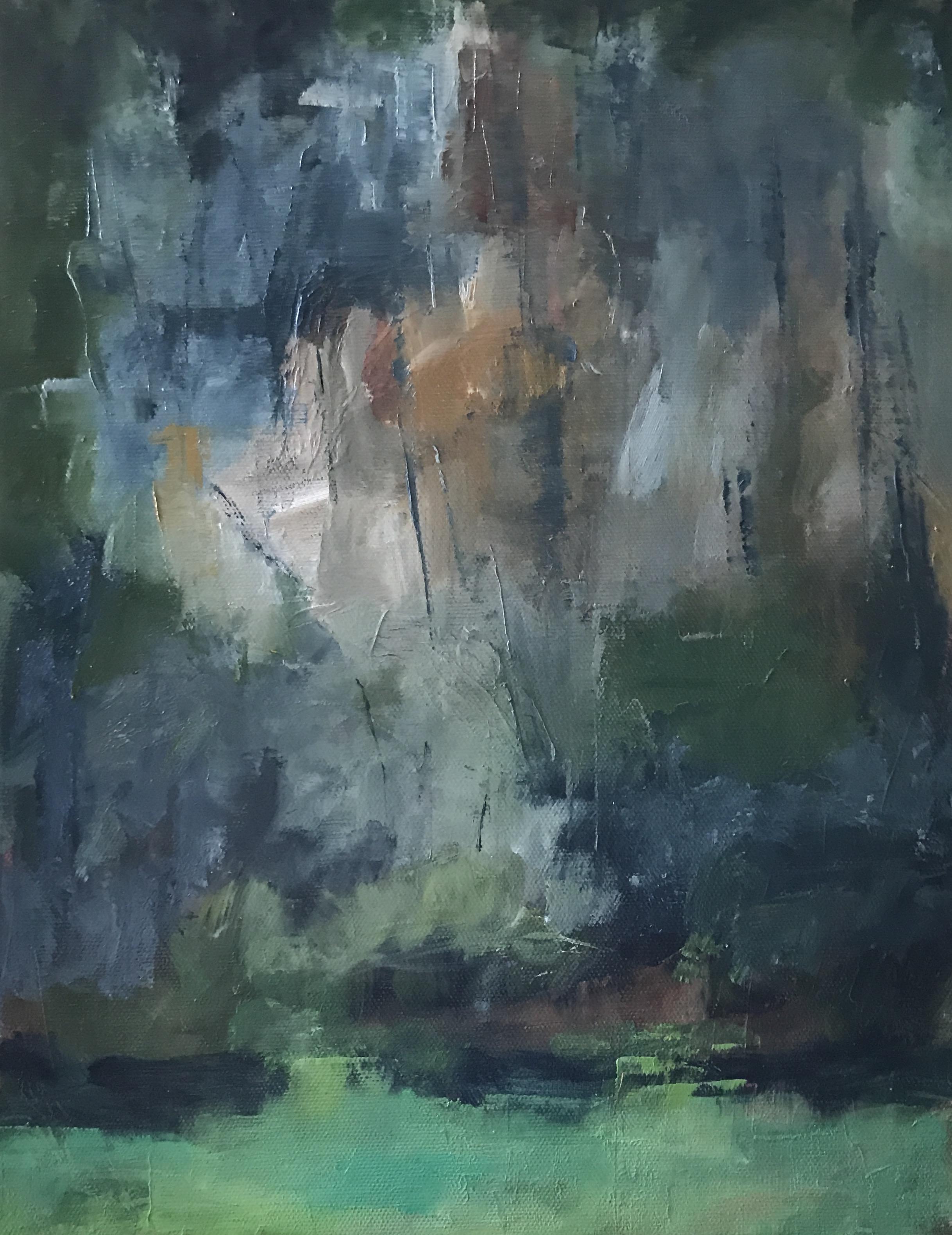 "Quarry, Malvern, PA, Oil on Canvas, 11x14"""