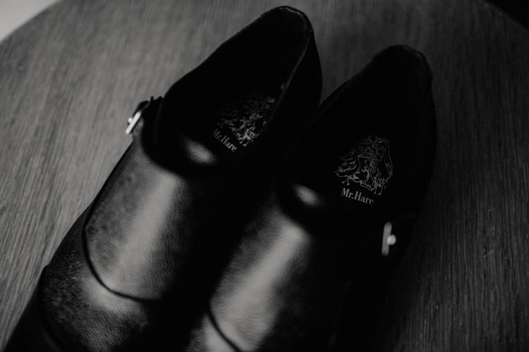 grooms shoes in froyle park wedding
