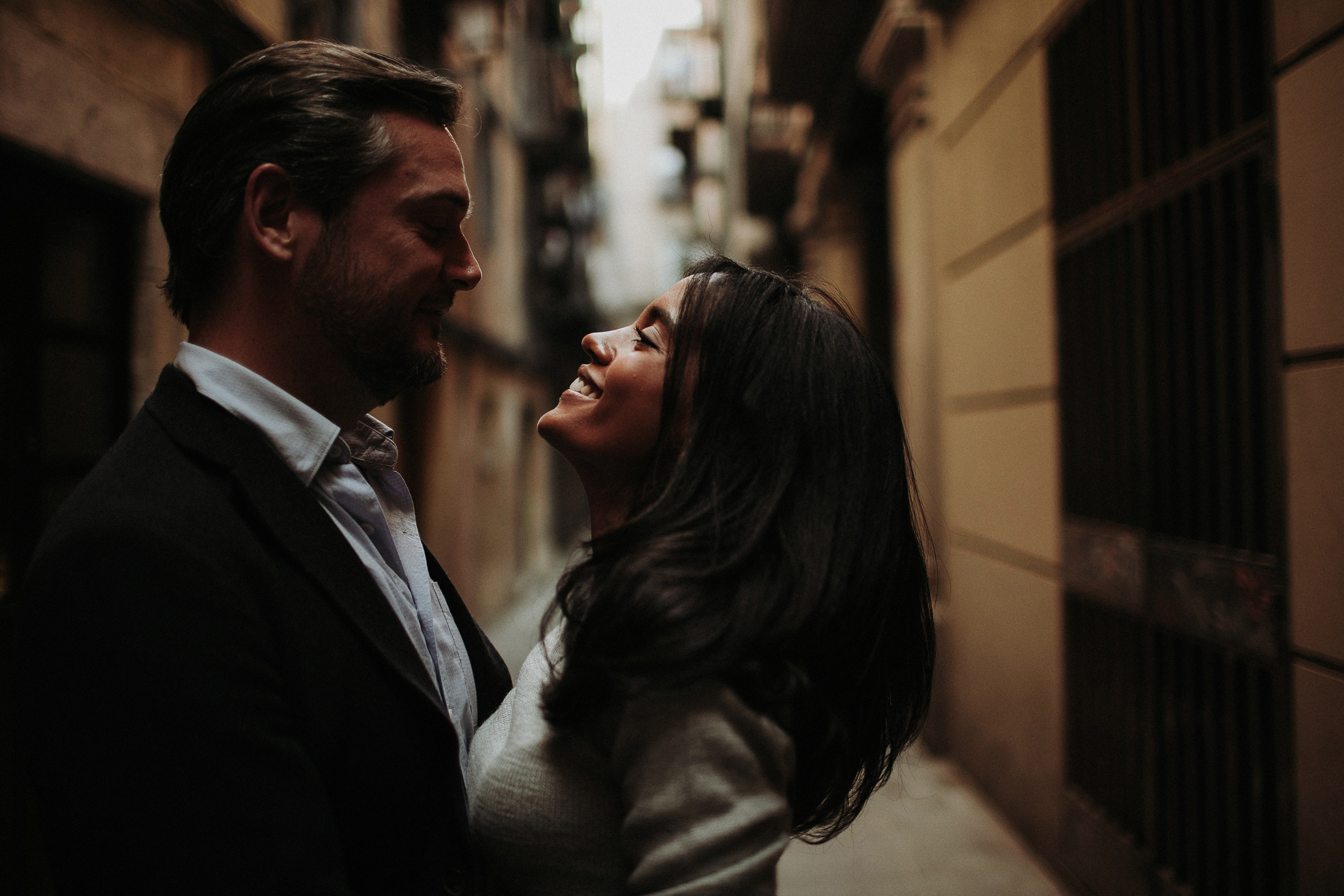 alternative wedding photographer in barcelona