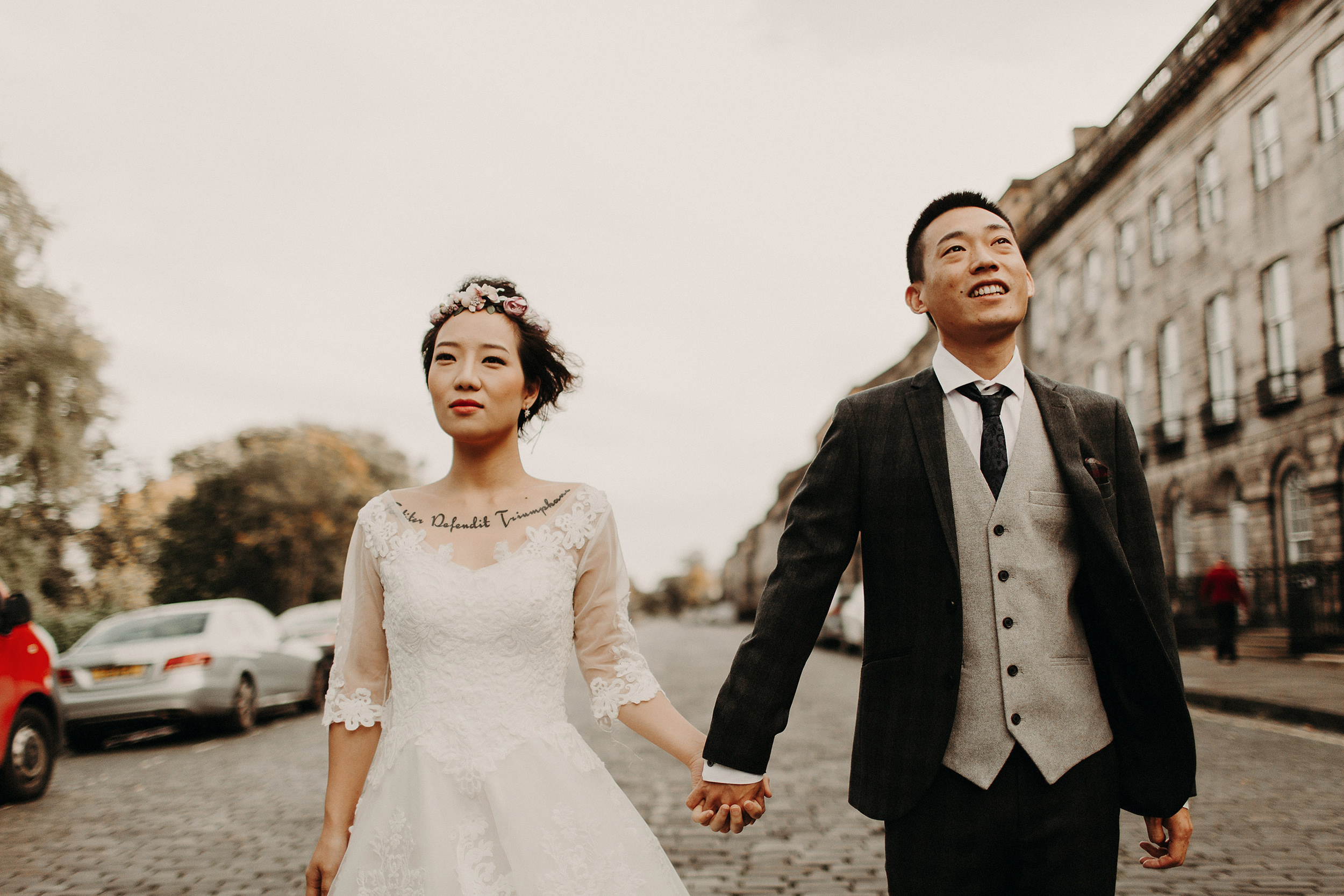 popular elopement photographers in edinburgh
