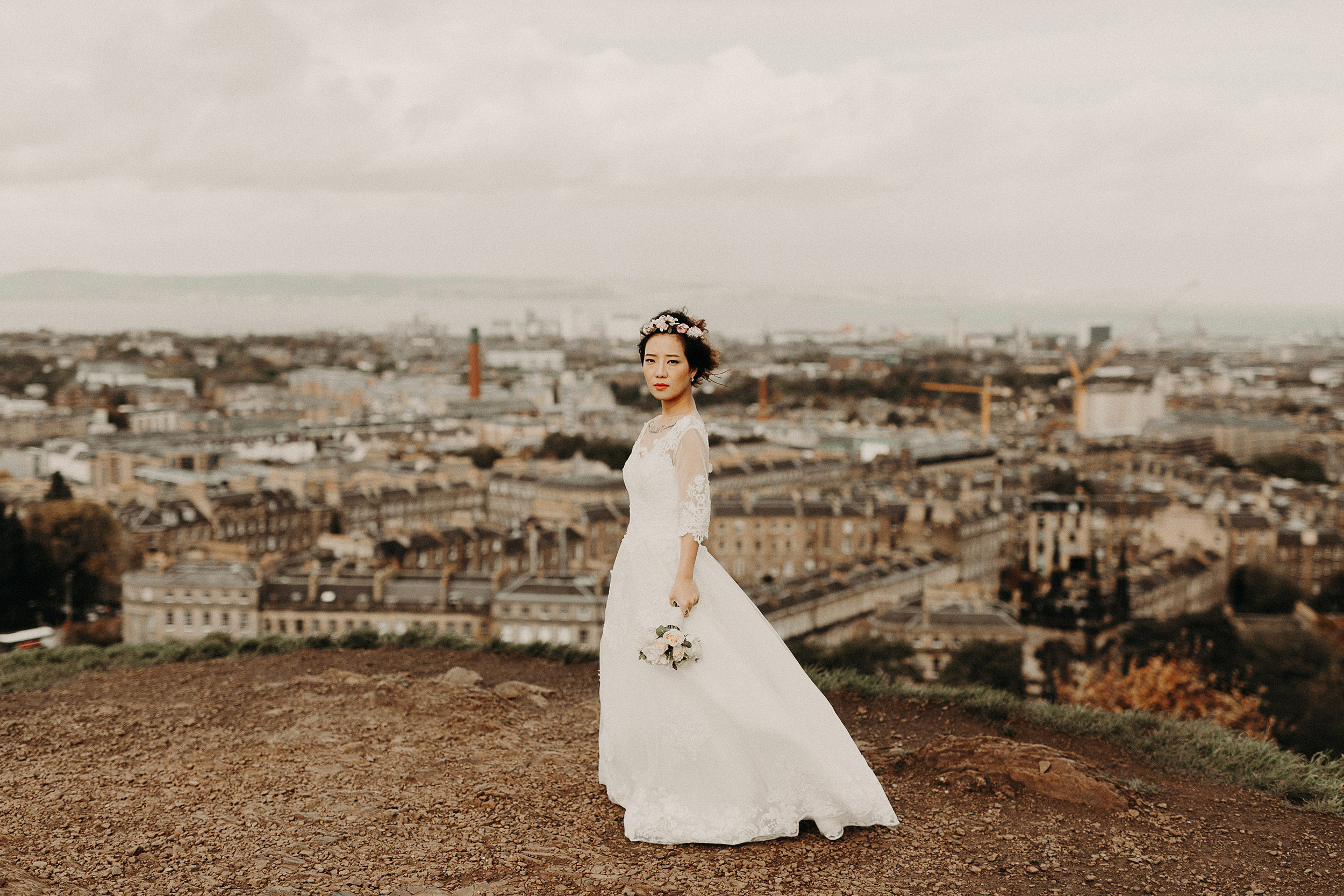 creative wedding photographer in london