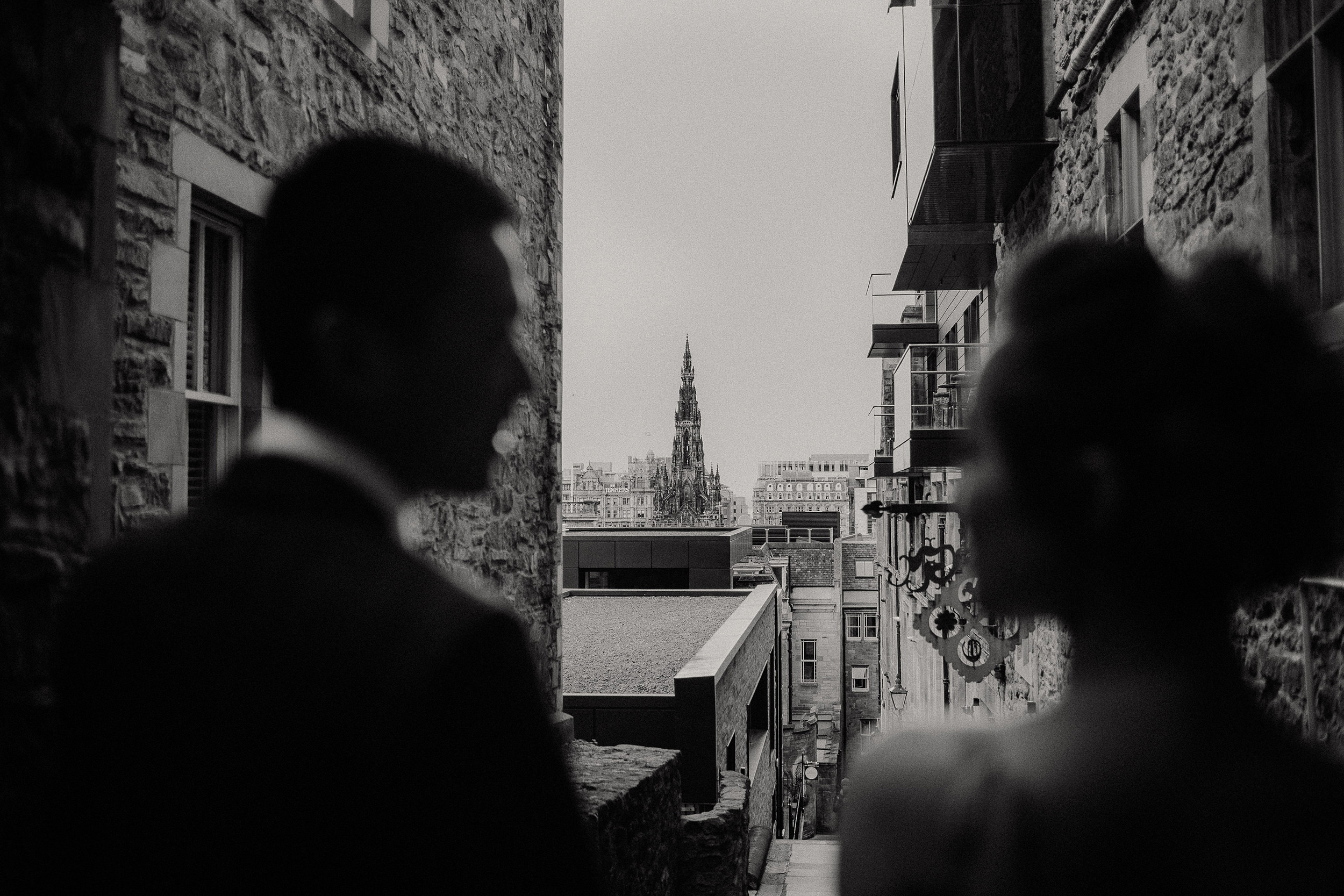 creative wedding photography in scotland