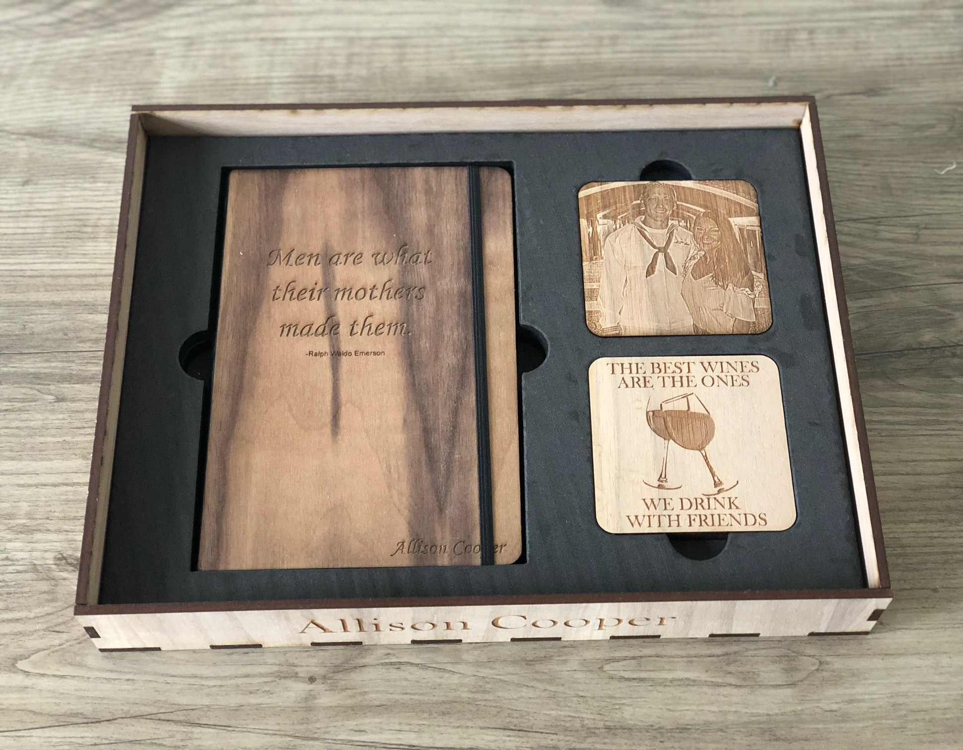 Journal & Coaster Box Example