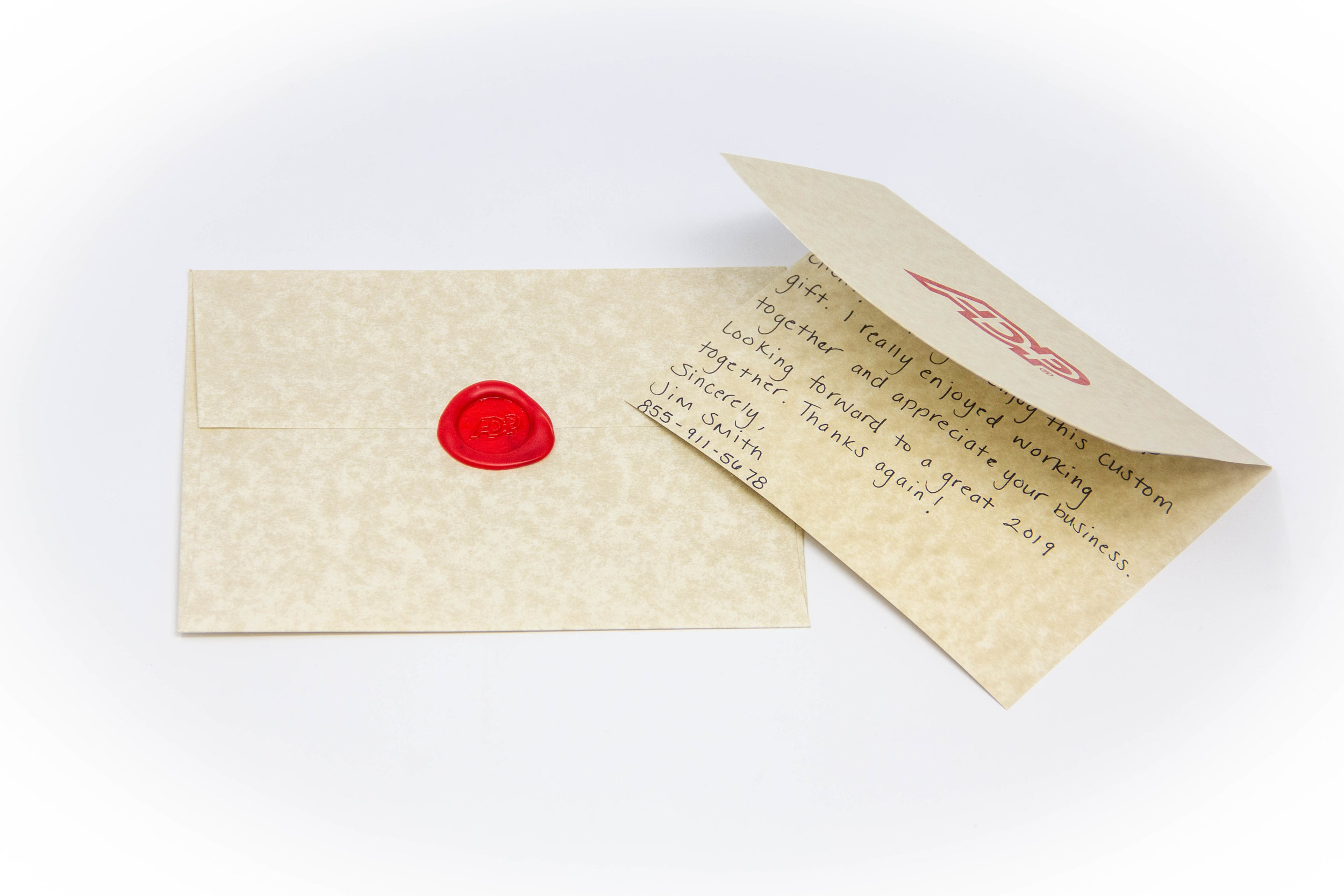 Wax-Sealed Hand-Written Letter