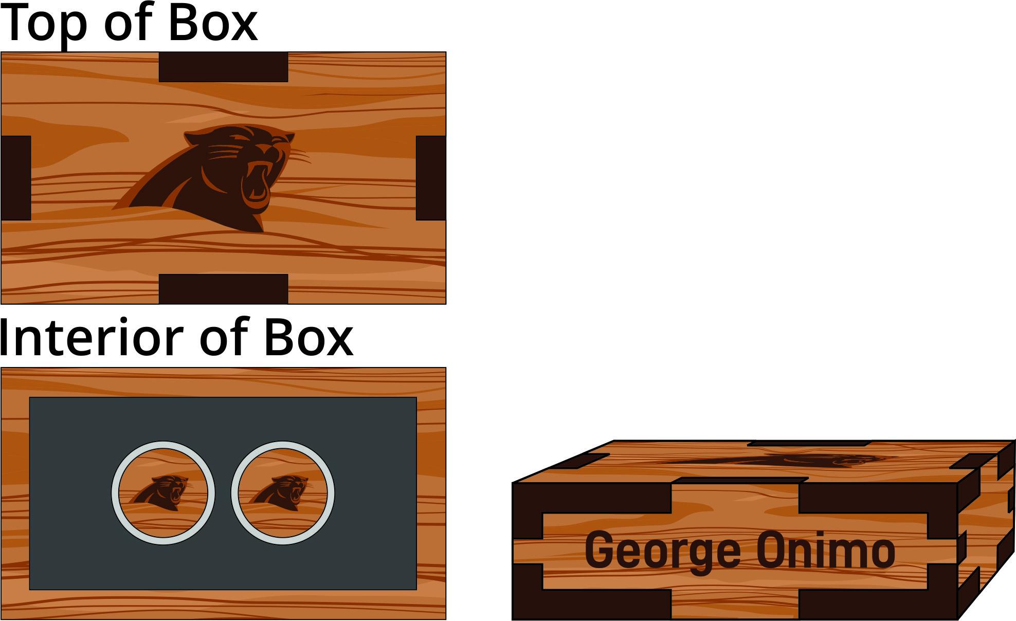 Veneer Cufflinks Box