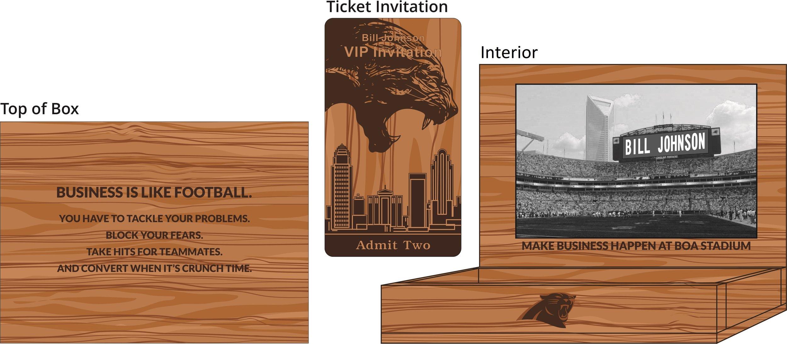 VIP Ticket Box