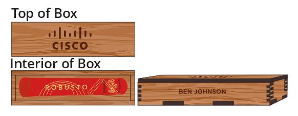 Single Cigar Box