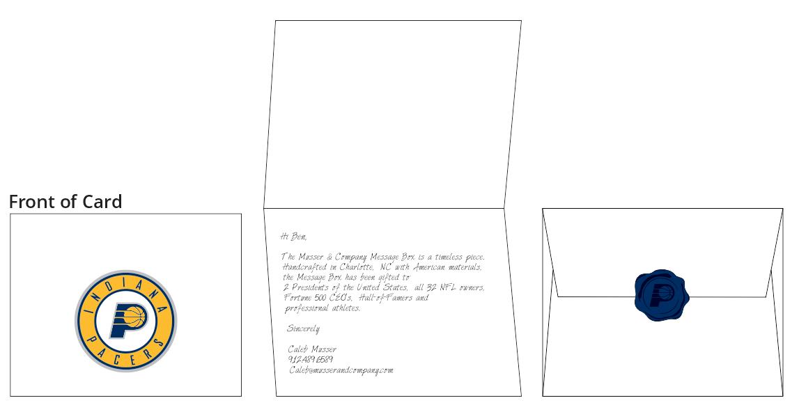 Wax-Sealed Hand-Written Letter