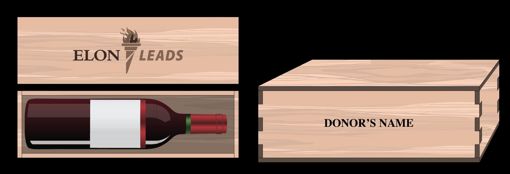 Cherry Wine Bottle Box - $50