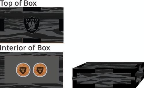 Veneer Cufflinks Box - $65