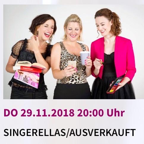 Für üs isch scho morn Wiehnachte. Usverchouft! 💥 das isch de öppe Läben am Limit!  @reberhausbolligen #singerellas #läbenamlimit #bern #show #kabarett #comedy
