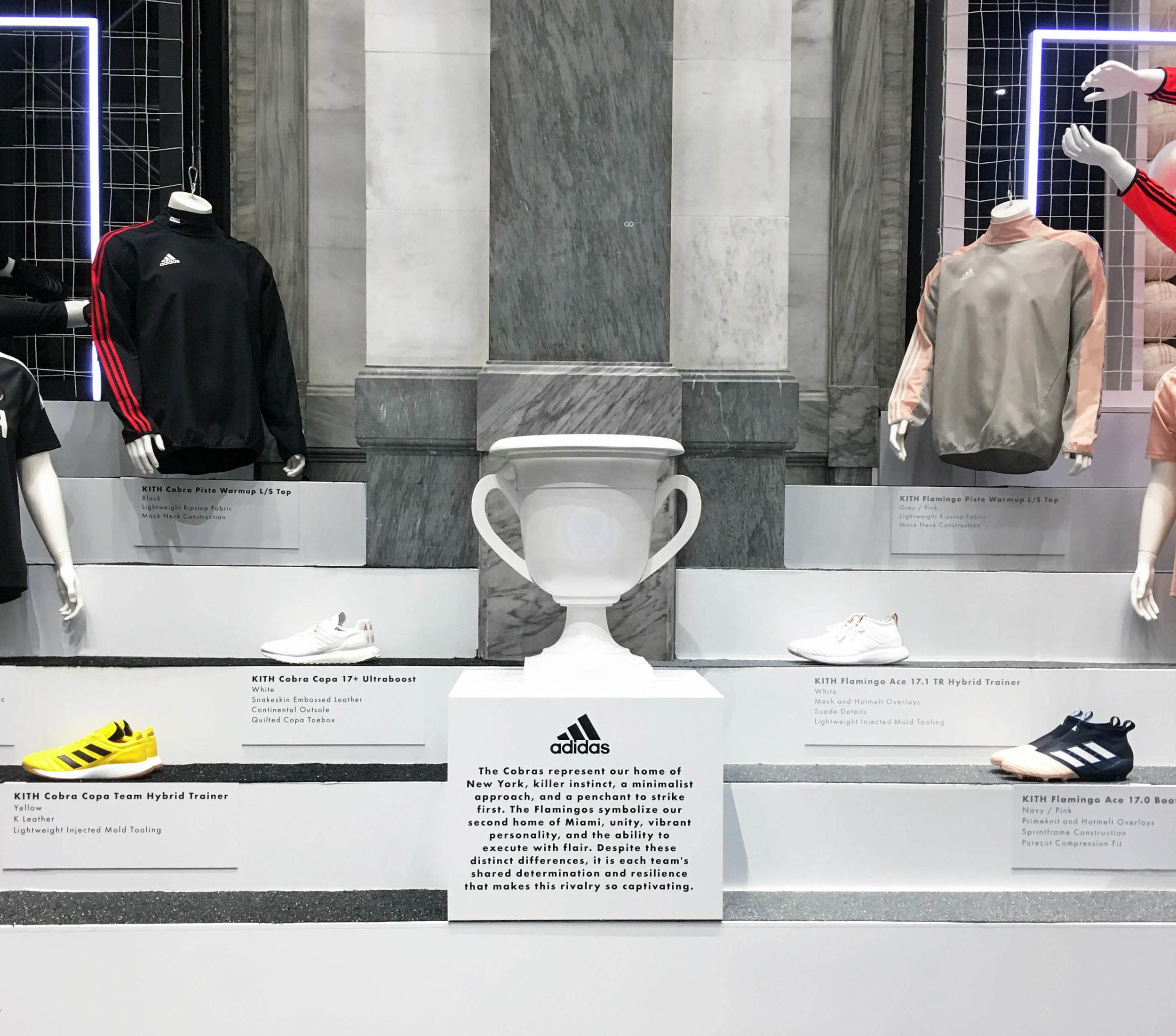 KITH   Retail Design Initiative, Production