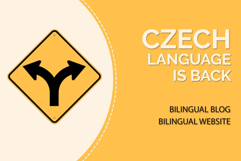 going bilingual adding czech