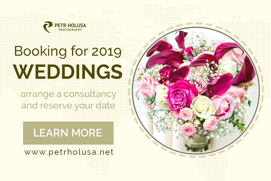 booking a wedding photographer for 2019