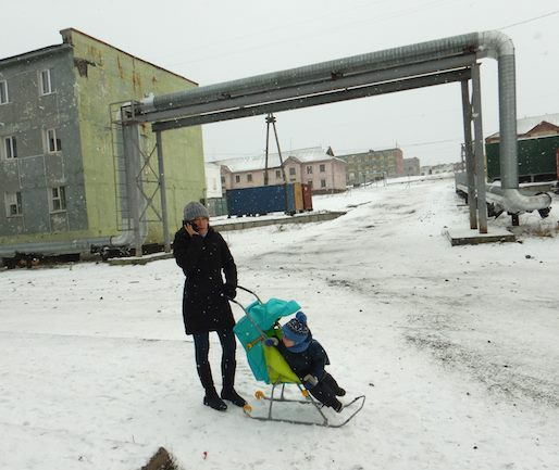 Child rearing in    Tiksi   , at the extreme north of Yakutia, a remote province of Russia, 5-times the size of France...