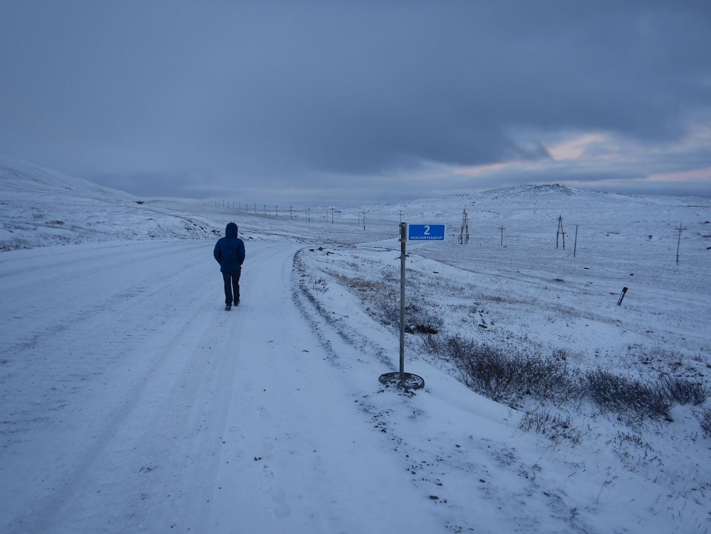 Legendary adventure/discovery film director    Bertrand Delapierre    uses his walking commute in    Tiksi    to think about our film's title ideas...