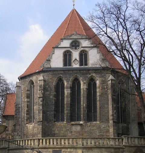 Where it all happened: die Neue Kirke (New Church) in Armstadt, now known as Die Bachkirke.