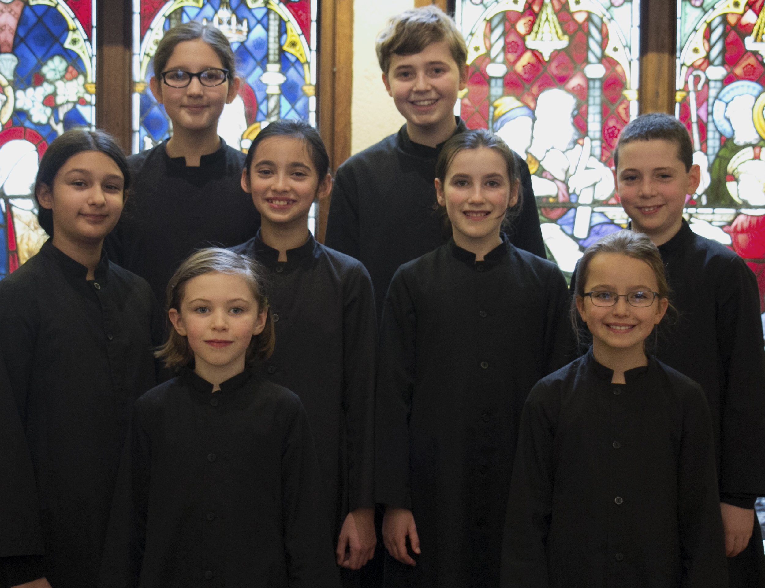 OperaKids members from Boston City Singers. Around two dozen OperaKids will come to New York to perform  Oedipus the King  with The Cecilia Chorus.